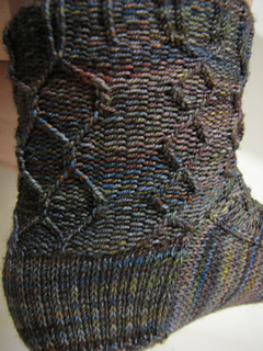 Twisted Knit Group Sock Pattern