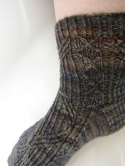 Caput Draconis Sock Pattern