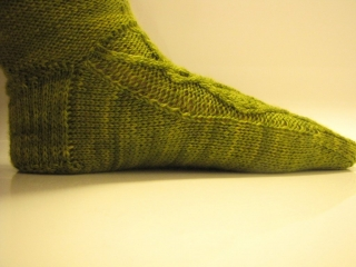 Wattlebird Sock Pattern