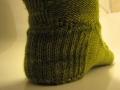 Wattlebird Sock Pattern - Heel detail